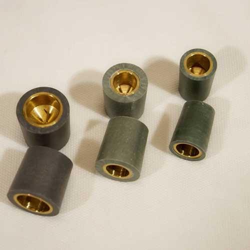 Brass-and-Fiber Jacketed Tube & Tubesheet Plugs