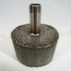 AES stainless steel basket tips